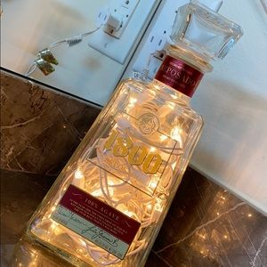 Other - 1800 Tequila light up Home made bottle